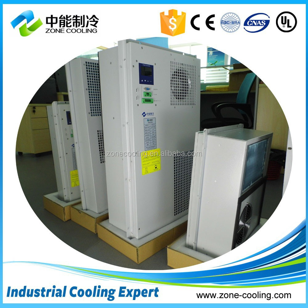 Air conditioning system for electrical,telecom cabinet cooling solutions