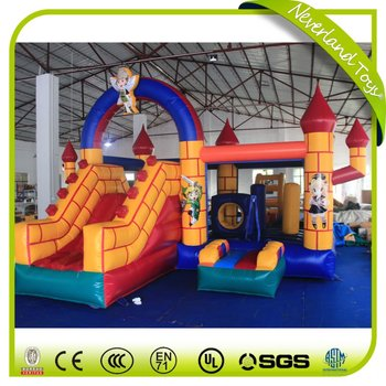 Newest Yellow Bricks Inflatable Castle/Inflatable Bouncer For Sale