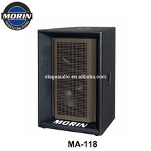Fashion Design 18 inch Professional Long Throw High SPL Outdoor Stage Sound System Speaker Morin MA-118