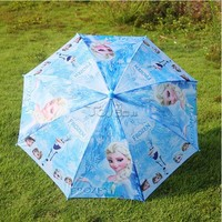 2015 Hot Selling Frozen Alsa & Anna Umbrella