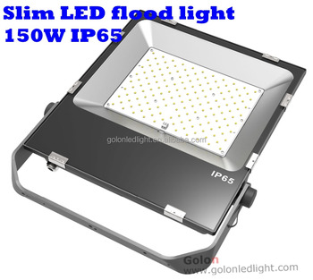 150W Flood Lights slim LED SMD 3030 100-277V low price high price replace 500w high pressure sodium lamp