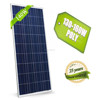 high efficiency 140w solar panel price for home in china