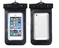 New cheap wholesale custom strong smartphone PVC waterproof case bag for mobile phone