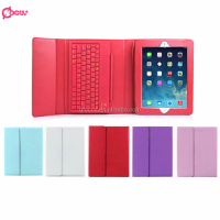 Bluetooth V2.0 Wireless Keyboard with Protective Case for Ipad 5 6, Luxury Leather case for iPad 5 6