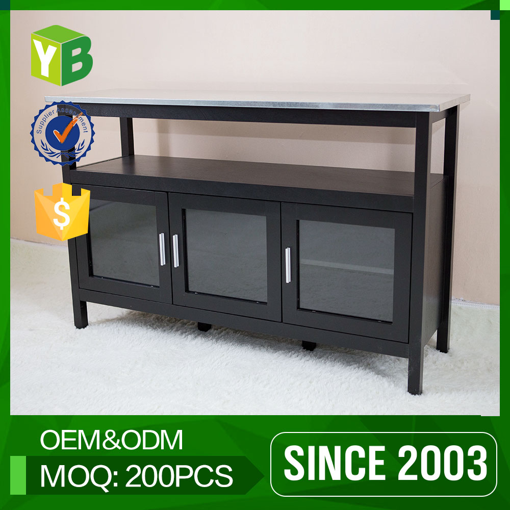 MDF china made complete cheap country kitchen base cabinets