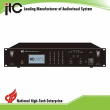 ITC T-6760 Series 4 zome audio power amplifier ip,ip audio amplifier network,ip audio paging amplifier