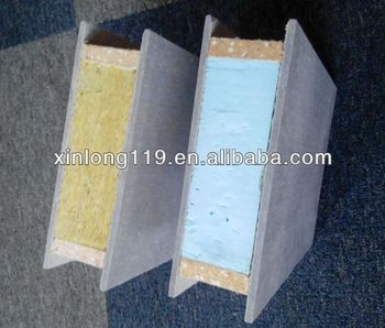 Eco Friendly Construction Wall Board Interior Wall Xps Eps