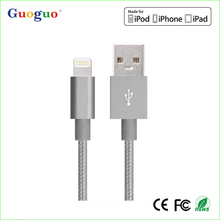 Authorized MFi Manufacturer cell phone charger cable,3ft MFi Certifie Original Braided Charger Cable for Apple