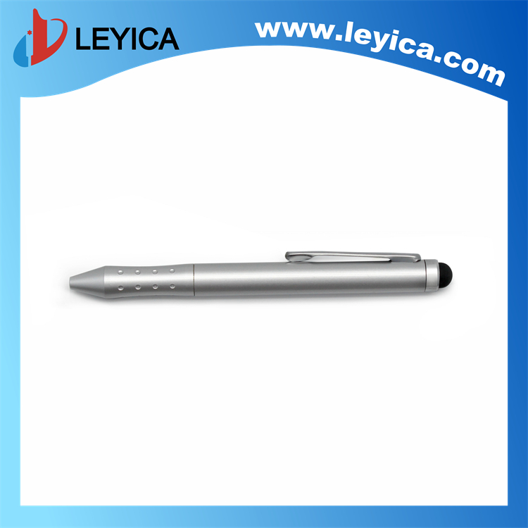 Touch screen stylus pen+writing ballpoint pen - LY-S049