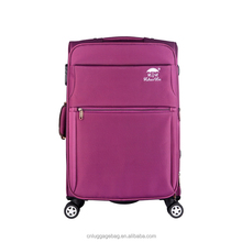 Business travel like king new style big handle soft nylon eva leaves luggage