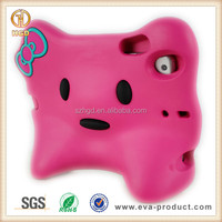 HGD New Arrival For iPad Baby Case Shock Absorbing With Kitty Face
