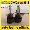 30W cree 3000lm car led headlight bulb h11 for perfect driving experience