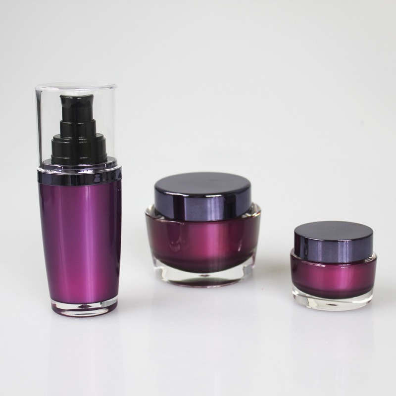 cosmetic oval luxury high end 50ml 100ml 30ml acrylic oval lotion pump bottle