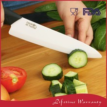 Wholesale Big Ceramic Damascus Vegetable Cook Chef Kitchen Knife 8 inch 200mm In Box