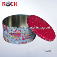 Aluminum tin boxes for cookies