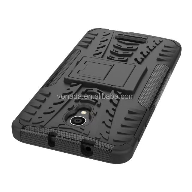 Rugged Hybrid Stand Shockproof Protective Phone Cover Case For Alcatel pop 4 plus