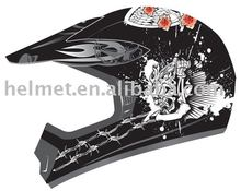 AD-618 motorcross helmet off road/ helmet ATV/ custom helmet