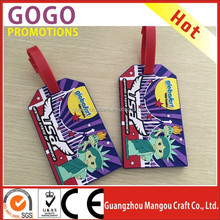 2016 Newly Luggage Tag Plastic, The Plastic Luggage Tag Fastener and Hard Plastic Luggage tag in Reasonable Price