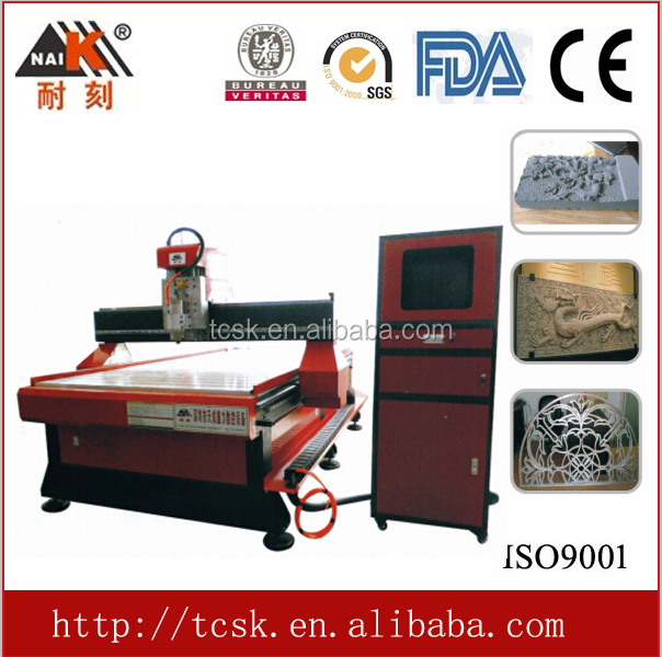 CNC professional wood working machinery, for wood, mdf, plywood, cutting and engraving with 1300*2500mm size