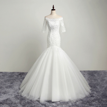 gorgeous 2018 mermaid wedding dresses pattern with sleeves bridal wedding gowns philippines