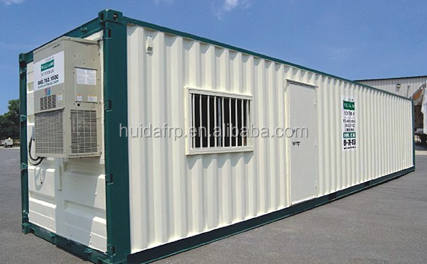 China HUIDA mobile container portable toilet container