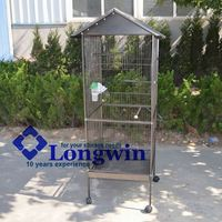 Wire mesh strong parrot cages