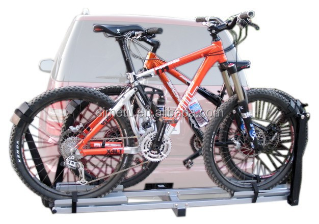 Bike rack tow bar/Tow bar mounted rear bike carrier