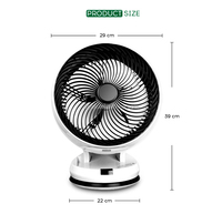 2016 hot choose fashion air cooling fan for bedroom use Mast001