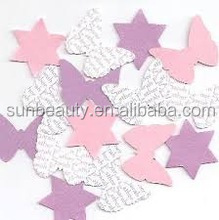 Paper crafts butterfly shaped wedding decorations