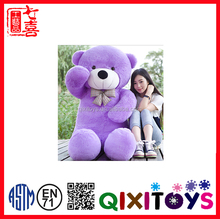 Hot selling Giant plush teddy bear,name for a teddy bear,bear souvenior toy/free teddy bear patterns