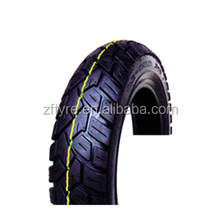 Natural rubber motorcycle tire