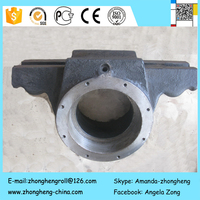 Balancing Axle Case Casting/Steel castings spare parts of engineering machinery