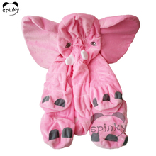 Giant Pink Plush Elephant Pillow Skin Without Filling Stuffed Elephant Cover