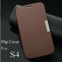 hot selling flip cover for sumsang galaxy s4 mobile case for galaxy i9500 stand leather case for samsung s4 i9500