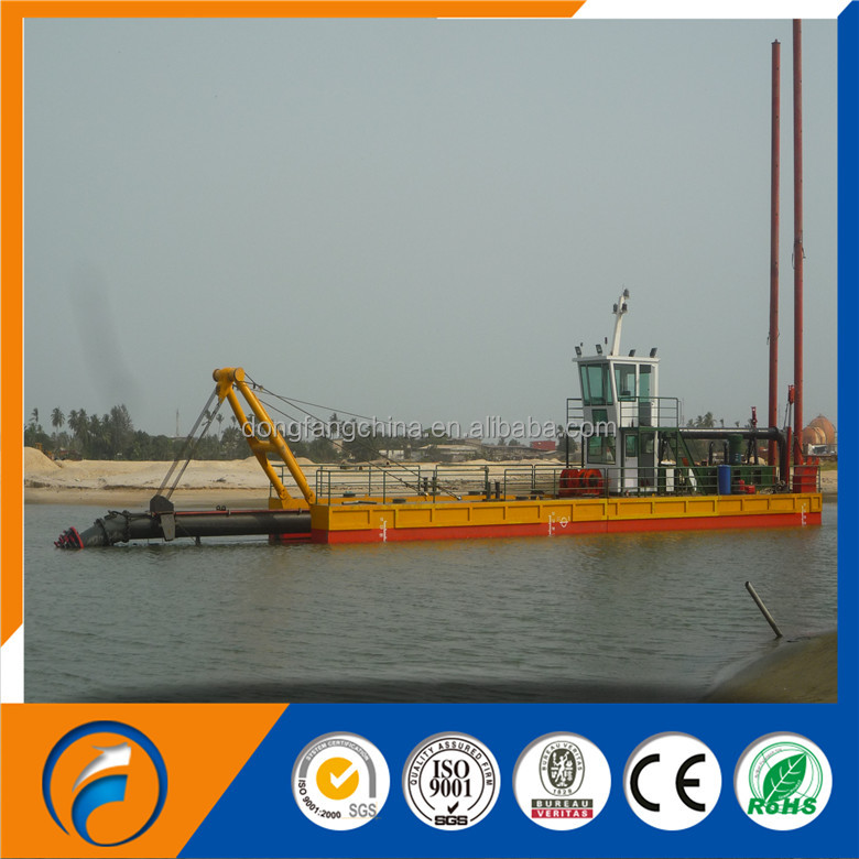 China Dongfang 18 inches cutter suction dredger & dredging machine & dredger