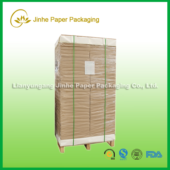 350gsm offset printing pe coated paper in sheet for paper cups