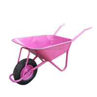 Simple farm tools deep tray building wheelbarrow wb5009F