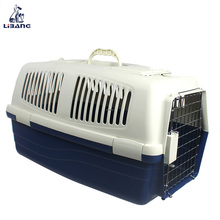 High Quality Wholesale Portable Airline Plastic Pet Carrier for Dogs and Cats