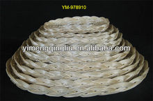 Good Design Oval Wicker Plate for Candy