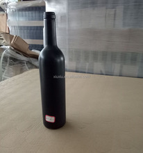 750ml black color glass wine bottles wholesale