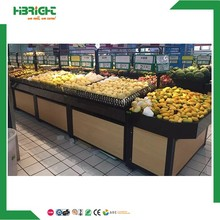 supermarket Vegetable Rack/Fruit display stand with good quality