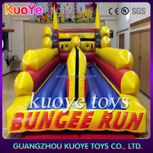 inflatable bungee run,bungee run with basketball