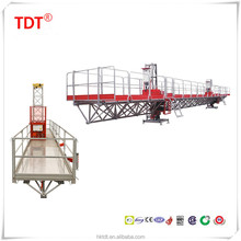 motor building table/mast section scaffold/platform