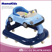 top popular baby car shape plastic cheap cartoon baby walker old fashioned baby walkers