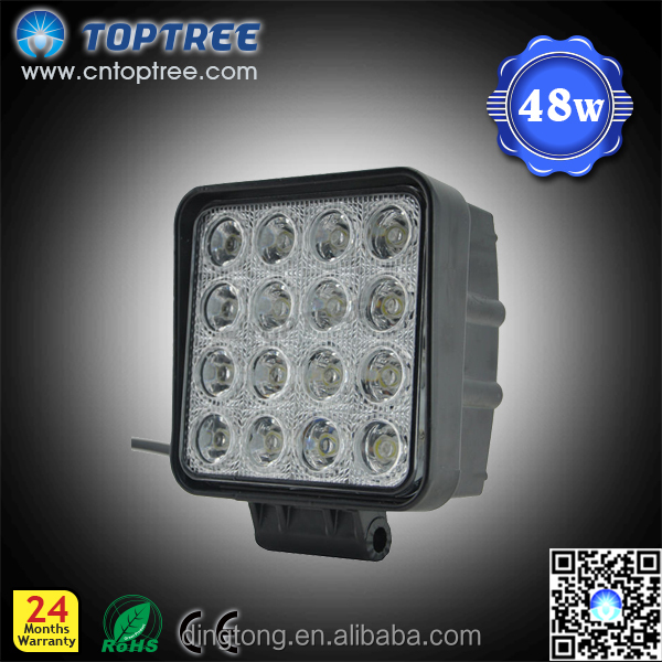 Manufactor 48W Auto LED Work Light Off Road Car Accessories LED ROCK LIGHT