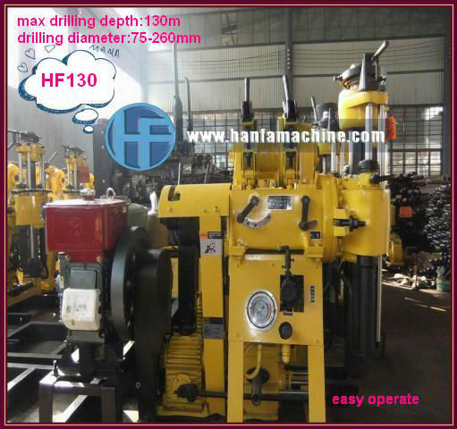 Welcomed!!! HF130 Trailer core bore drilling machine