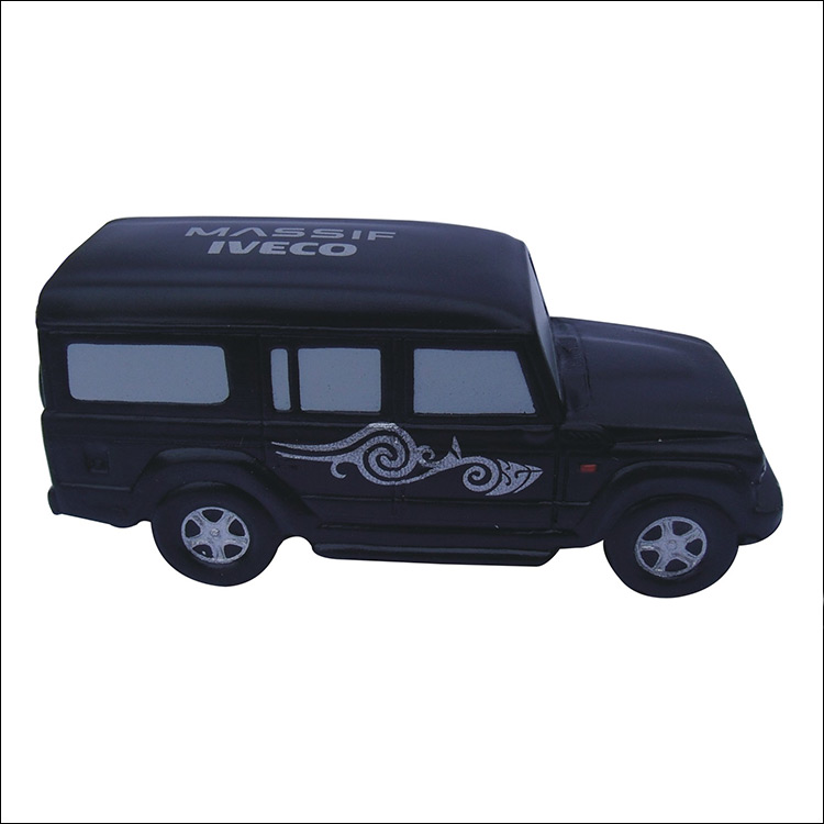 Custom Branded Promotion PU Stress Car Toy