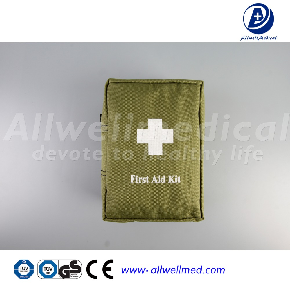 Portable First Aid Kit Green Bag
