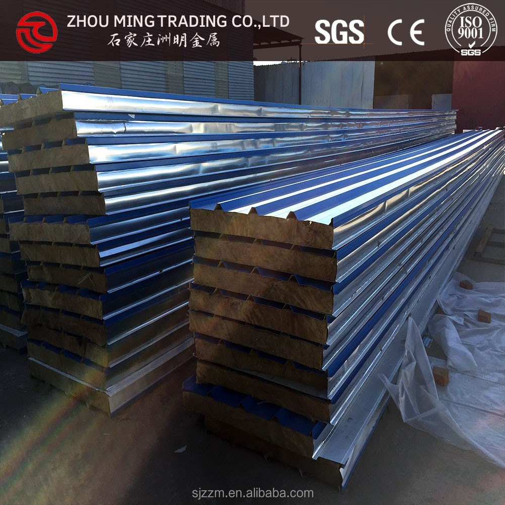Polyurethane Sandwich Panel Roof : Building material roof sandwich panel pu and eps