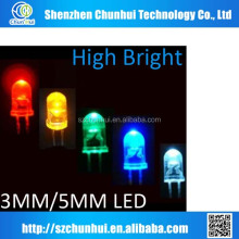 5mm led cob diodes, high-power leds